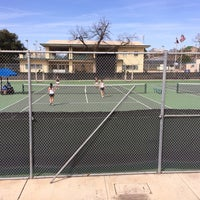 Photo taken at McFarlin Tennis Center by Paul H. on 2/21/2014