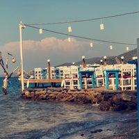 Photo taken at Izer Beach by Ebru Y. on 7/30/2018