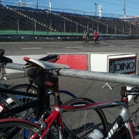 Photo taken at Garden State Velodrome @ Wall Stadium by GetOutsideNJ Jeff on 5/1/2013