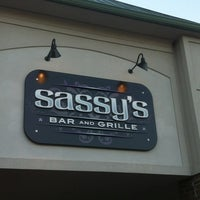 Photo taken at Sassy's Bar and Grille by Lisa P. on 5/25/2013