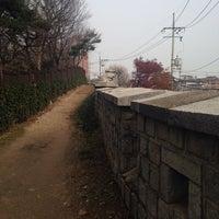 Photo taken at 다산성곽길 by Kitty J. on 11/23/2014