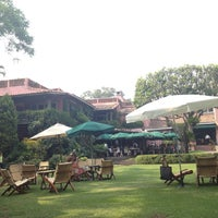 Photo taken at Las Mañanitas Hotel, Garden, Restaurant & Spa by Laura B. on 5/12/2013