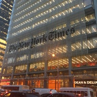 Photo taken at The New York Times Building by Kanika N. on 11/22/2016