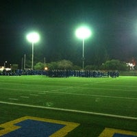 Photo taken at UCLA Spaulding Field by Connor B. on 10/29/2012