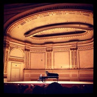 Photo taken at Carnegie Hall by Kolja on 5/5/2013