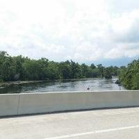 Photo taken at Wakulla River by Janet M. on 6/8/2014