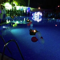 Photo taken at Pool Party by Alev O. on 9/26/2015