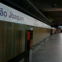 Photo taken at Estação São Joaquim (Metrô) by Pablo C. on 11/26/2012