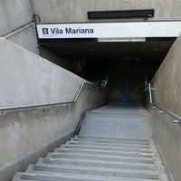 Foto tirada no(a) Estação Vila Mariana (Metrô) por Pablo C. em 11/17/2012