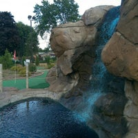Photo taken at Valley Falls Adventure Golf by JB A. on 8/7/2015