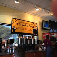 Photo taken at Einstein Bros Bagels by Tammy S. on 4/22/2013