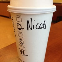 Photo taken at Starbucks In Target by Nicole T. on 4/27/2013