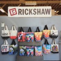 Photo taken at Rickshaw Bagworks by Natalie V. on 6/19/2015