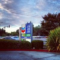 Photo taken at Chevron by Natalie V. on 10/10/2012