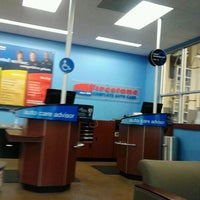 Photo taken at Firestone Complete Auto Care by Carla N. on 11/26/2012