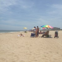 Photo taken at Kings Grant Beach by Jane D. on 7/14/2013