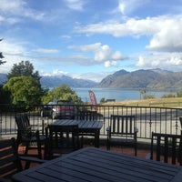 Photo taken at Lake Hawea Hotel by Jill G. on 1/15/2013