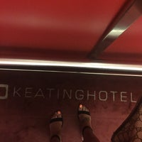 Photo taken at The Keating Hotel by Pininfarina by Miriam W. on 4/29/2015