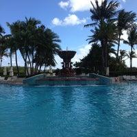 Photo taken at Loews Miami Beach Pool by Irina N. on 12/4/2012