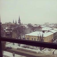 Photo taken at Національний університет «Львівська політехніка» Корпус 4 by Christina V. on 12/17/2012