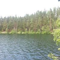 Photo taken at Ольховское озеро by Ричард В. on 6/16/2013