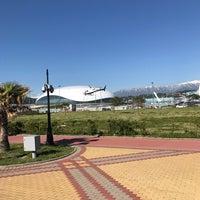 Снимок сделан в Пляж Олимпийского парка пользователем Uliya 4/28/2017