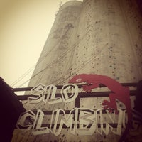 Photo taken at Silo Climbing by Liveisacurse on 10/8/2013