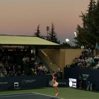 Photo taken at Taube Family Tennis Stadium by Christine H. on 8/1/2017