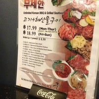 Photo taken at Palace Korean Bar & Grill by Jackson S. on 1/8/2013