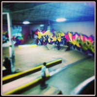 Photo taken at Cream City Skatepark by MilwaukeeHome on 1/20/2013