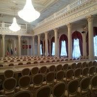 Photo taken at Казанская ратуша by Sergei L. on 2/18/2013