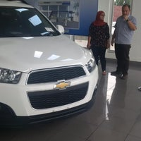 Photo taken at Chevrolet - Mega Autoworld by Syahrun B. on 12/2/2014