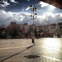 Photo taken at Plaza de la Remonta by jaime e. on 3/26/2014