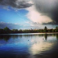 Photo taken at Lago de la Casa de Campo by jaime e. on 6/8/2013
