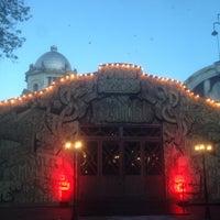 Photo taken at Gran Teatro Príncipe Pío by jaime e. on 5/11/2016