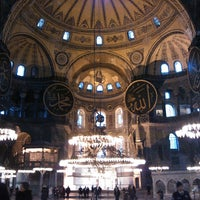 Photo taken at Hagia Sophia by Ahmetakgun53 on 6/2/2013