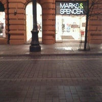 Photo taken at Marks & Spencer by Vytautas E. on 11/25/2012