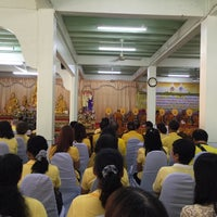 Photo taken at วัดประชุมโยธี อารามหลวง by Madame L. on 6/9/2016