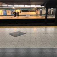 Photo taken at Christie Subway Station by Georgie R. on 9/12/2017