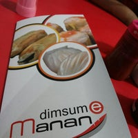 Photo taken at Dimsum Manan by Alfien E. on 11/21/2013