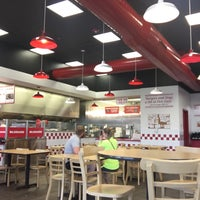 Photo taken at Five Guys by Sam S. on 7/10/2017