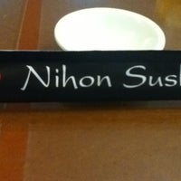 Photo taken at Nihon Sushi by Nathaly A. on 4/12/2013