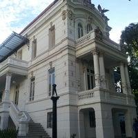 Photo taken at Palacete das Artes by Helder B. on 2/15/2013