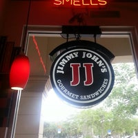Photo taken at Jimmy John's by Andrew M. on 3/18/2013