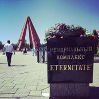 """Photo taken at Memorial Complex """"Eternity"""" by Юрий С. on 5/9/2013"""