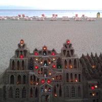 Photo taken at Las Vistas Beach by Lili G. on 9/24/2013