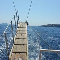 Photo taken at Denizin ortasi by Tuba K. on 8/23/2013