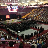 Photo taken at Mariucci Arena by Jerry H. on 5/17/2013