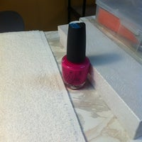 Photo taken at Crystal Nails by Tamara E. on 1/17/2013