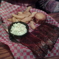 Photo taken at Famous Dave's Bar-B-Que by Edward W. on 1/23/2013